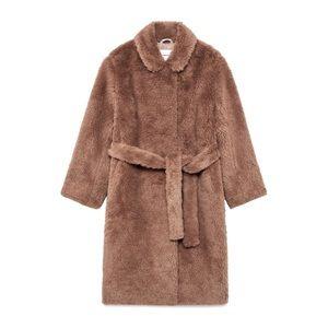 BNWT Aritzia Babaton Teddy Coat - Size Small